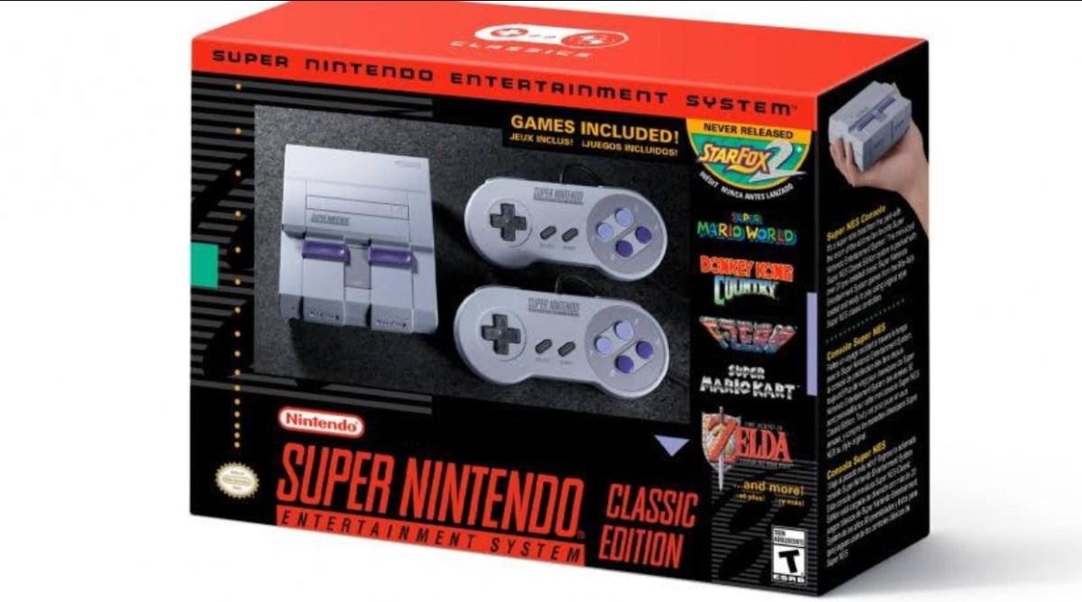 Nintendo to release SNES Classic