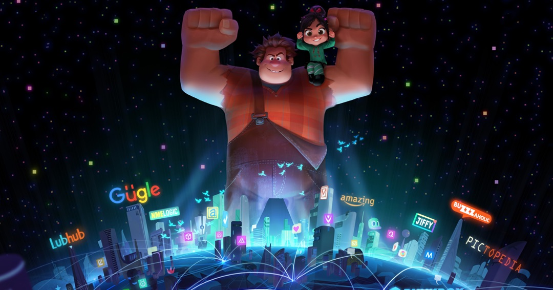 Wreck-It Ralph 2: Ralph Breaks the Internet Footage Revealed at D23
