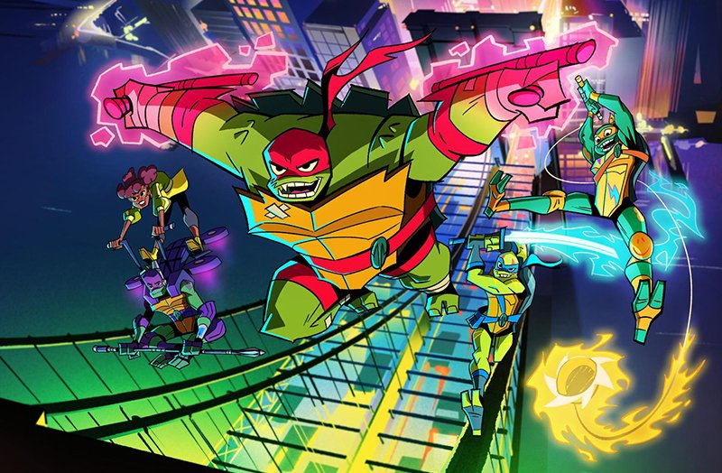 Nickelodeon Reveals Images Of The Characters From 'Rise of the Teenage Mutant Ninja Turtles'