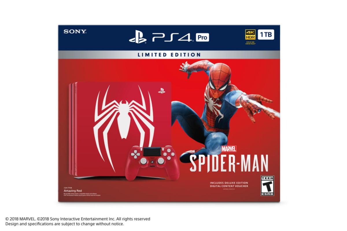 Sony Reveals Limited PlayStation 4 Spider-Man Bundle
