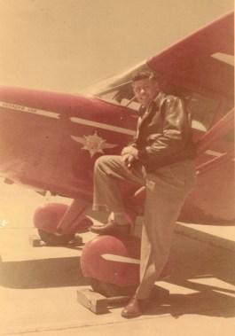 Abe's first plane