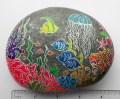 """Ocean Reef"" on river rock"