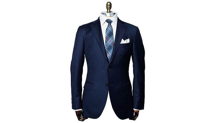 nosząc garnitur