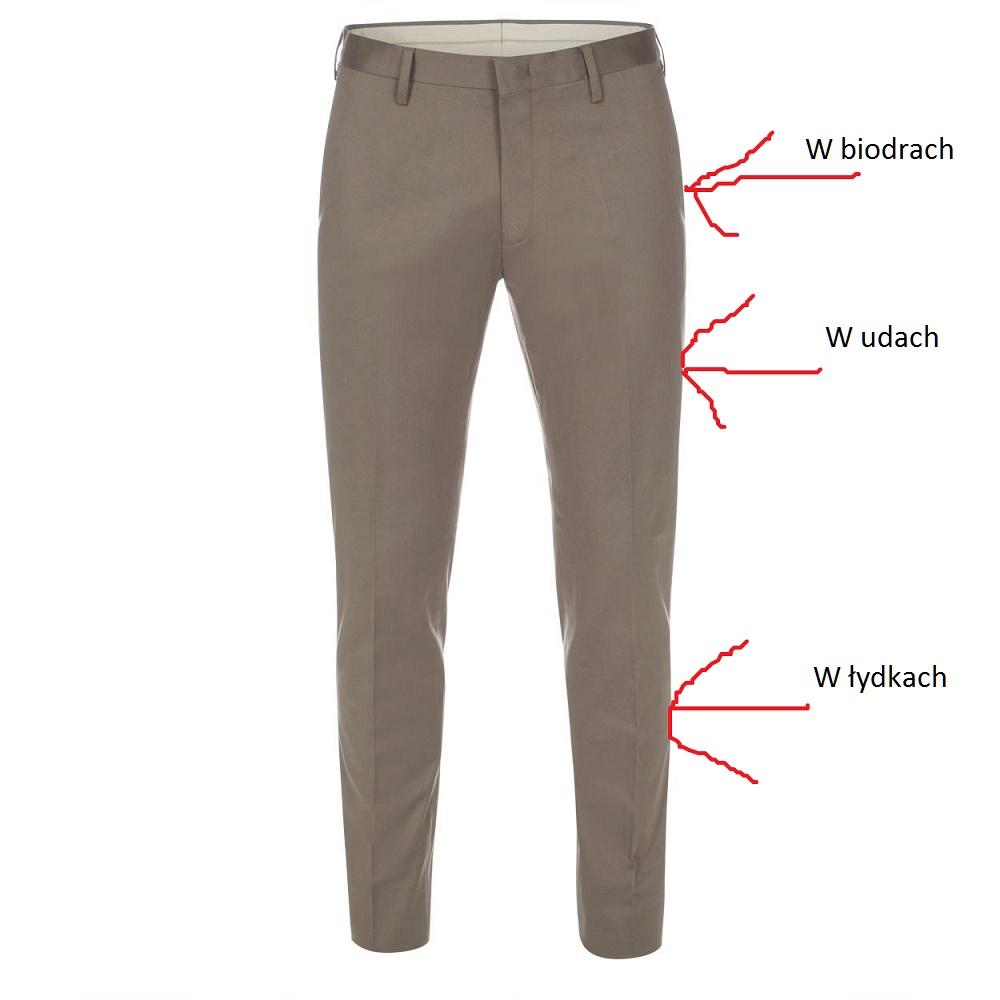 poszerzanie spodni