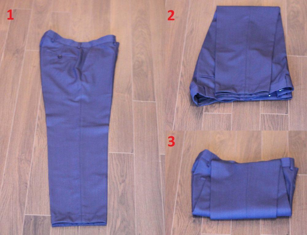 pakować garnitur