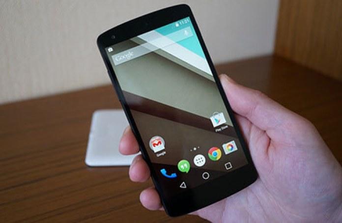 Android L - Nexus 5