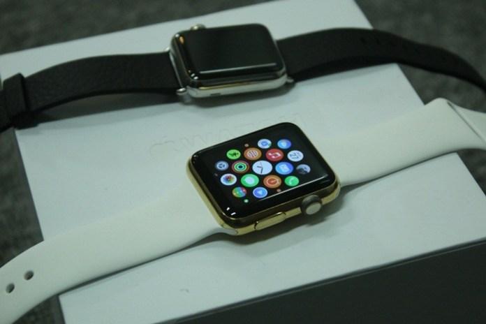 Apple Watch gold 2
