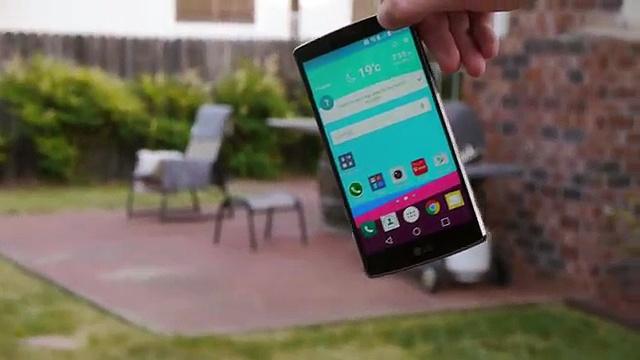 LG G4 drop test