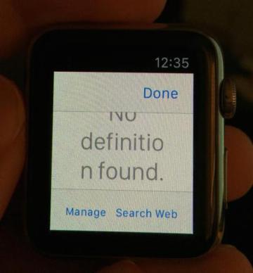 apple watch web