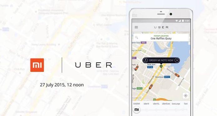 Xiaomi Uber
