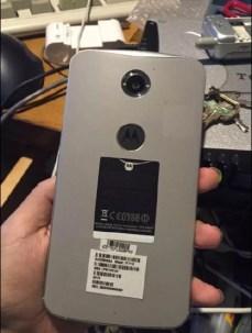 Nexus 6 com sensor de impressões digitais 1