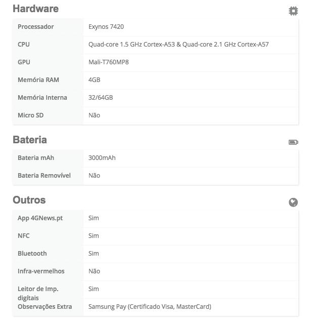 Galaxy S6 Edge plus 3