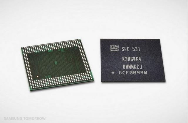 Samsung 6GB RAM chip