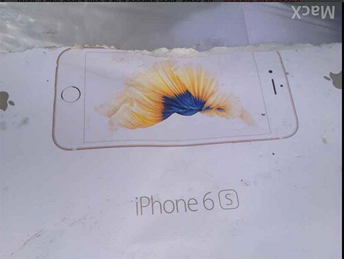 iPhone 6 caixa