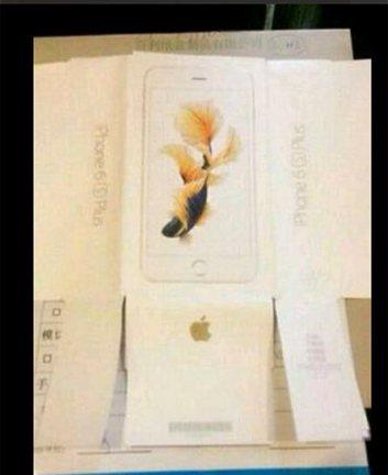 iPhone 6S POlus caixa