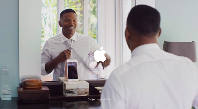 apple jamie foxx