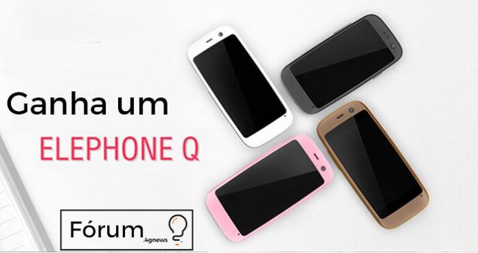 Elephone Q sorteio