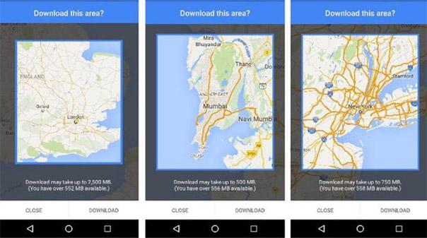 maps one
