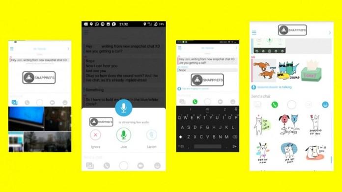 Snapchat poderá ser como facebook messenger