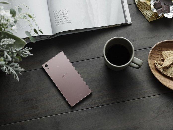 Sony Xperia Z5 Pink Sakura 4gnews 4