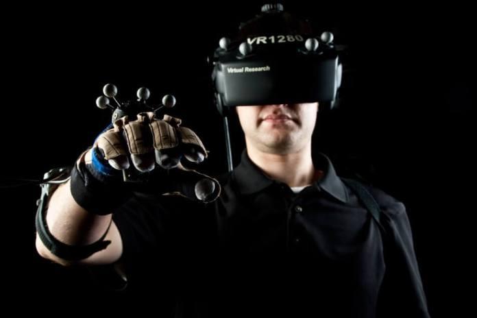 realidade virtual homem