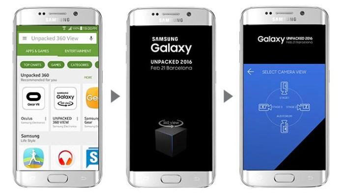 Galaxy S7 presentation