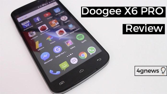 doogee X6 pro review