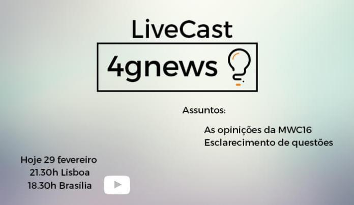 LiveCast 29 fevereiro