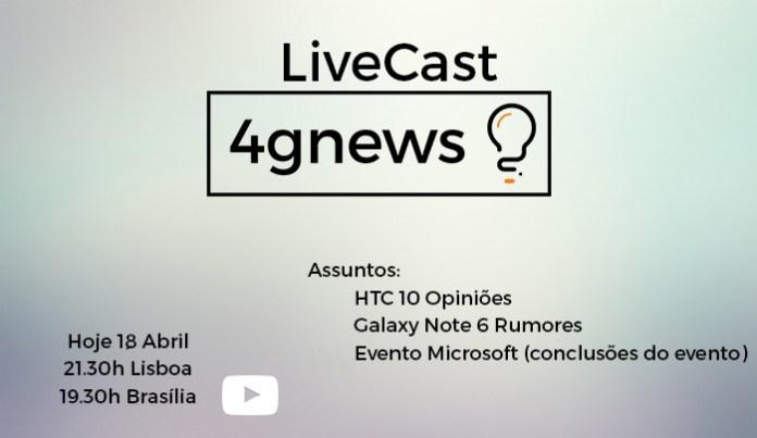 Livecast 18 abril