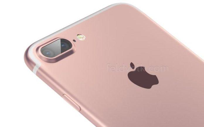 Representação artística do Apple iPhone 7 Pro/Premium