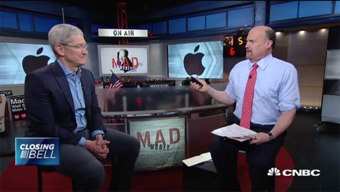 Tim Cook madmoney