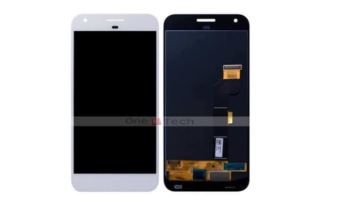Google Pixel XL em branco