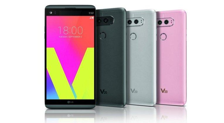 LG V30 LG V20