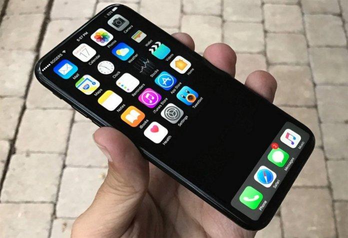 Conceito do Apple iPhone 8