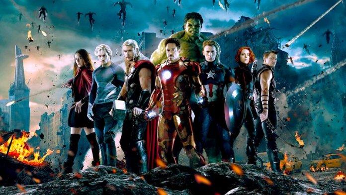 Avengers da Marvel Vingadores