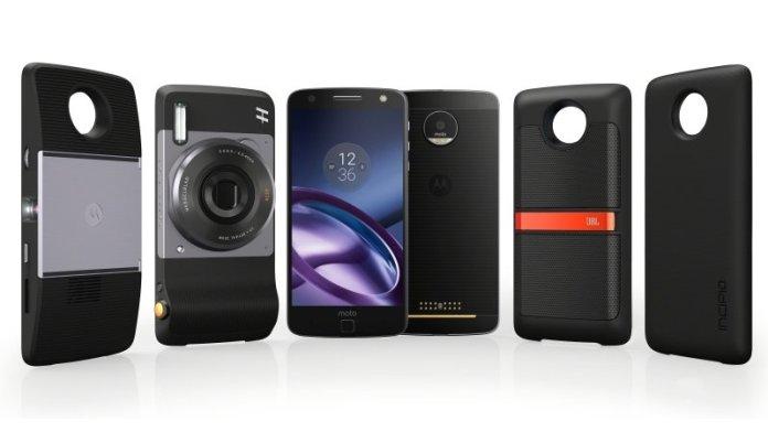Motorola Moto Z com Moto Mods