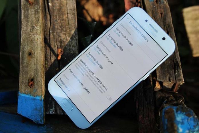 Android Samsung Galaxy A3 Samsung Galaxy A5 (2017) Android Android Nougat