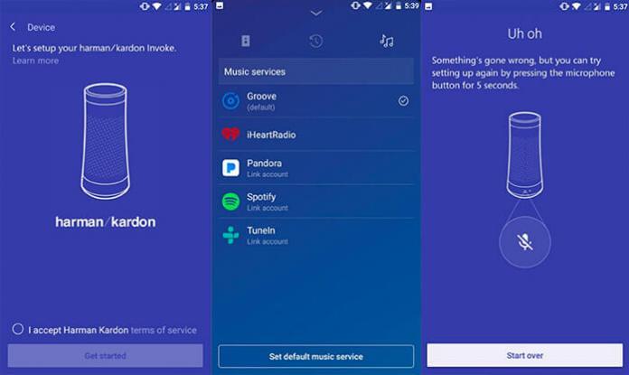 App da coluna Microsoft