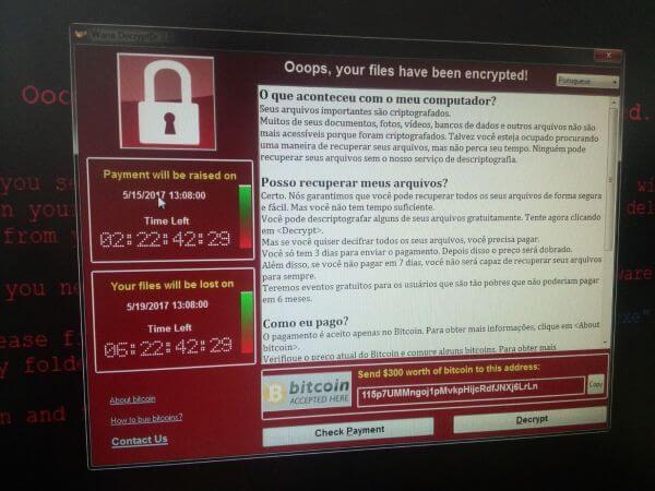 Imagem no computador da Portugal Telecom | Crédito: O Observador