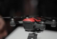 O Novo DJI Spark; Imagem: Tech Crunch