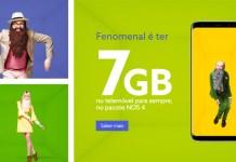 NOS oferece 7GB de dados para clientes NOS 4 e NOS 5