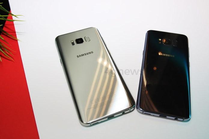 Samsung Galaxy S8 Xperia XZ Premium
