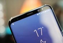 atualização Samsung Galaxy S8 update