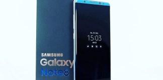 Alegado Samsung Galaxy Note 8