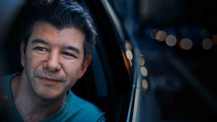 Travis Kalanick | Crédito: Time Magazine