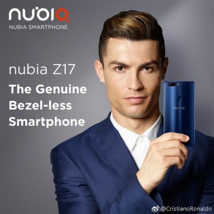 ZTE Nubia Z17 Ronaldo