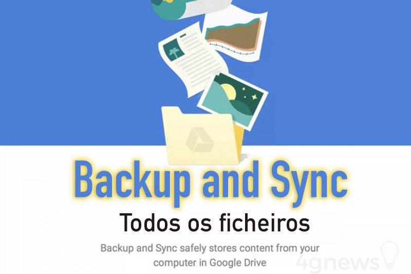 Google Drive disponibiliza sistema de backup integral