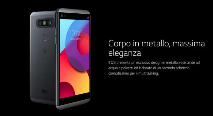 Este é o novo LG Q8 | LG V20