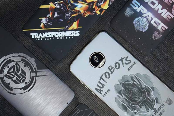Moto Snaps Transformer Motorola Moto Z
