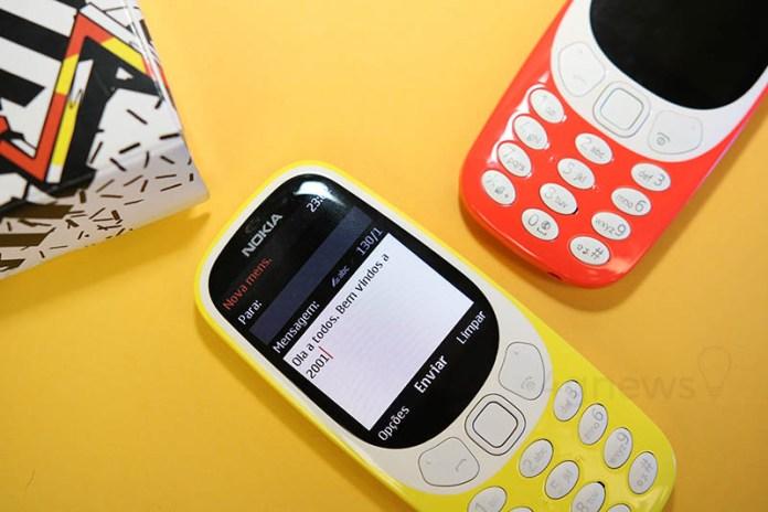Nokia 3310 análise